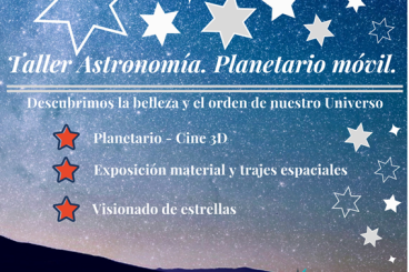 Taller Astronomía y Planetario