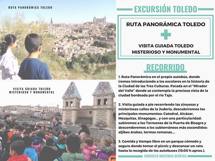 TOLEDO PANORAMICA + VISITA GUIADA (sin precio)