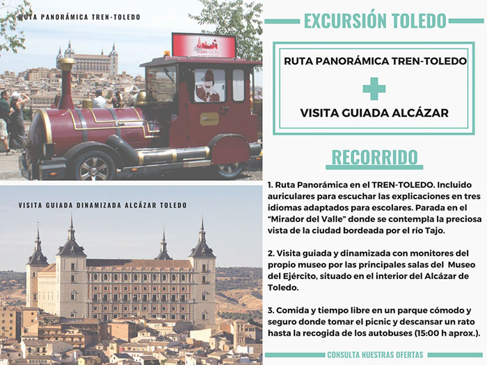 TRENECITO TOLEDO + ALCAZAR (sin precio)